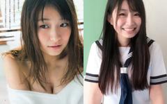 かつての全国素人美少女コンテストでグランプリに輝いた益田恵梨菜のキラキラ眩しい水着グラビア26枚!